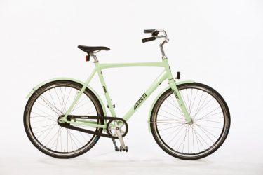 Azor Veluwe Gents Pale Green Gloss - Lightweight Dutch Commuter Bicycle