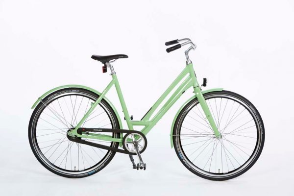 Azor Veluwe Ladies Pale Green Gloss - Lightweight Dutch Commuter Bicycle