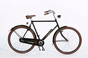 Azor Terschelling Gents High Glosse Black - Dutch Clean Bicycle - Amsterdam Bicycle Company