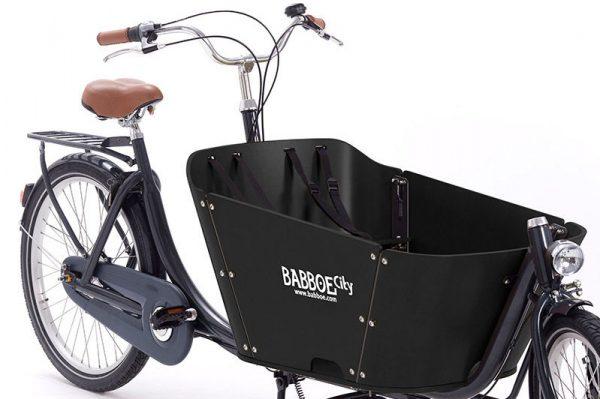 Babboe City Cargo Bike Black Box - Amsterdam Bicycle Company