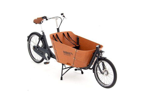 Babboe City Cargo Bike Wooden Box - Amsterdam Bicycle Company