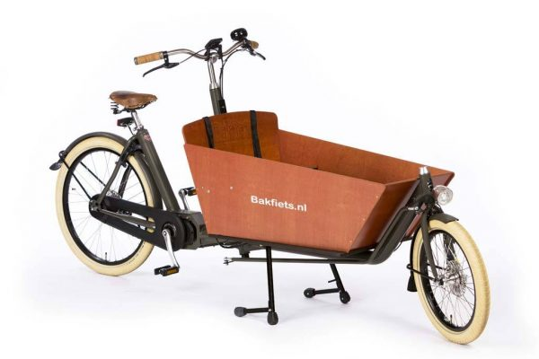 E-Cargo Cruiser Long Granite Grey Matte - Premium Dutch E-Cargo Bike