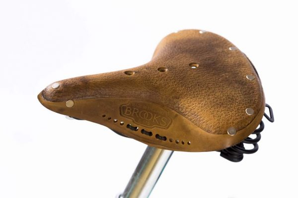 Brooks Saddle Aged Brown Leather