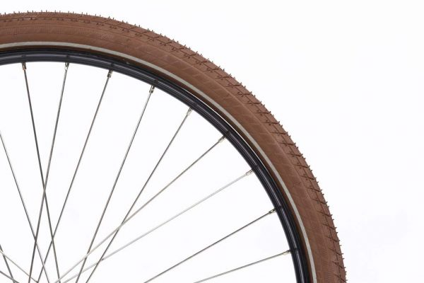 Brown Fat Tires - Dutch Clean Bicycle