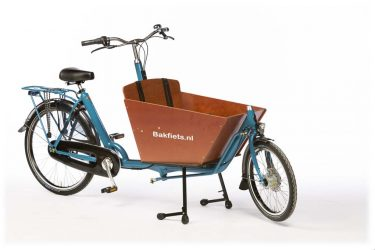 Cargo Classic Compact Pearl Blue Metallic Gloss - Amsterdam Bicycle Company