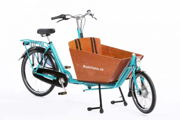 Cargo Classic Compact Turquoise Blue Glosse - Classic Compact Cargo Bike