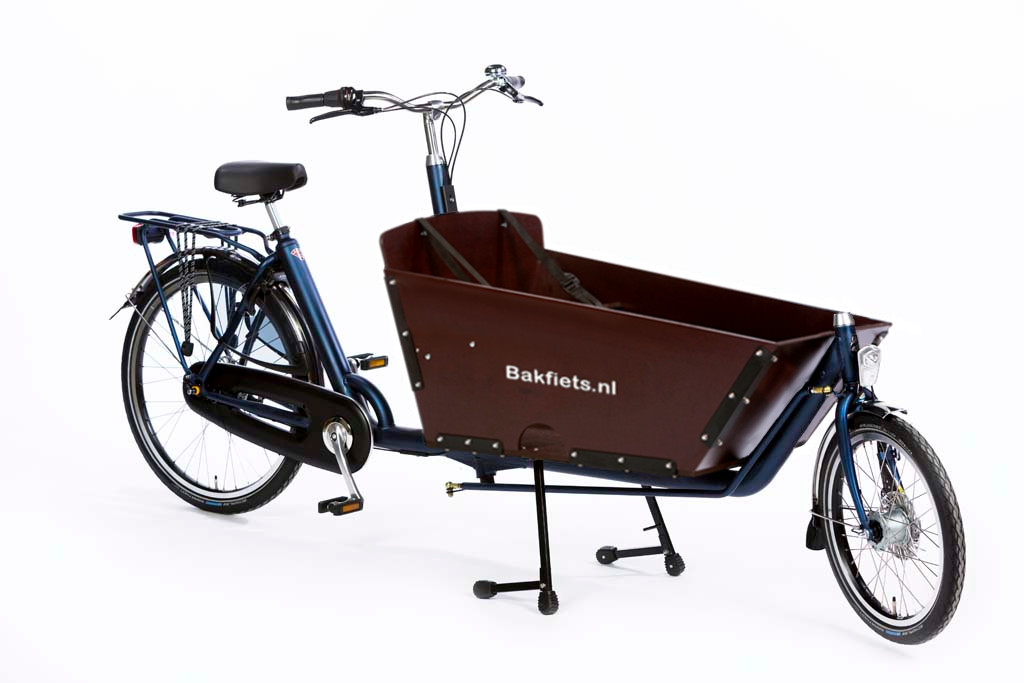d49b0db02e4 Cargo Classic Long Denim Blue Matte Bolted Box - Classic Full-Size Cargo  Bike with
