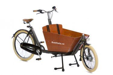 Cargo Cruiser Compact Granite Grey Matte - Premium Compact Cargo Bike