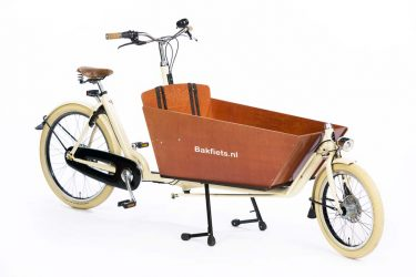 Cargo Cruiser Long Creme Gloss - Premium Full-Size Cargo Bike