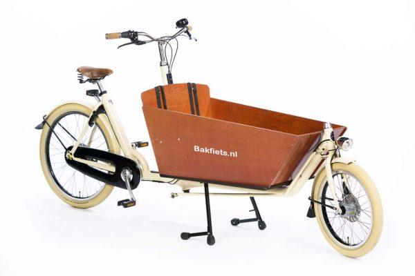 Cargo Cruiser Long Creme Gloss - Premium Full-Size Cargo Bike