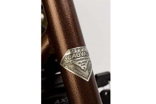 Copper Hammered Detail