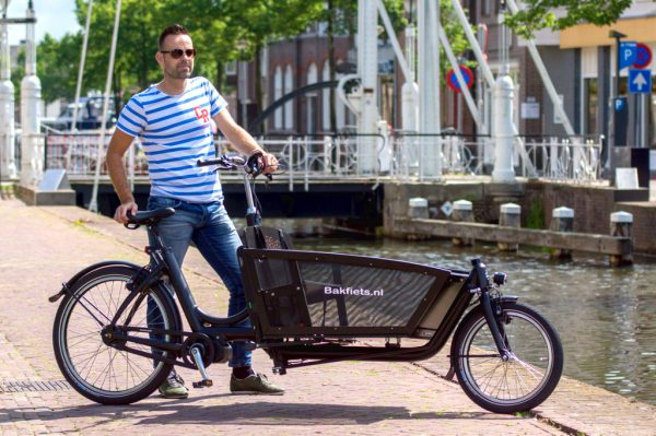 E-Cargo Shadow - In Amsterdam - Amsterdam Bicycle Company