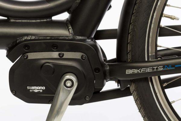 E-Cargo Shadow - Shimano Mid-Drive Motor - Amsterdam Bicycle Company