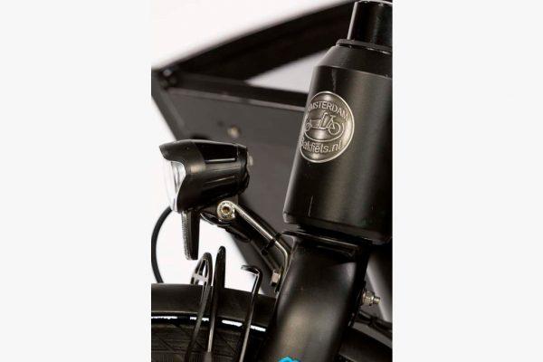 E-Cargo Shadow - Tin Head Badge - Amsterdam Bicycle Company