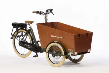 E-Cargo Trike Cruiser Narrow - Granite Grey Matte - Disk Brakes - Amsterdam Bicycle Company