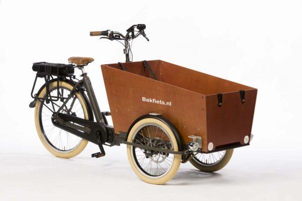 E-Cargo Trike Cruiser Narrow - Granite Grey Matte - Disk Brakes - Amsterdam Bicycle Company