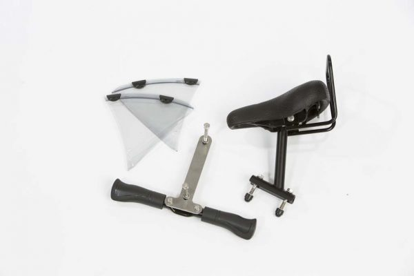 Front Child Seat for bicycles with front carrier - Amsterdam Bicycle Company