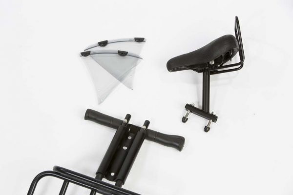 Front Child Seat for bicycles without front carrier - Amsterdam Bicycle Company
