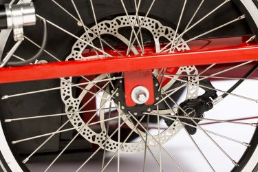 Hydraulic Disk Brake on Cargo Trike - Front