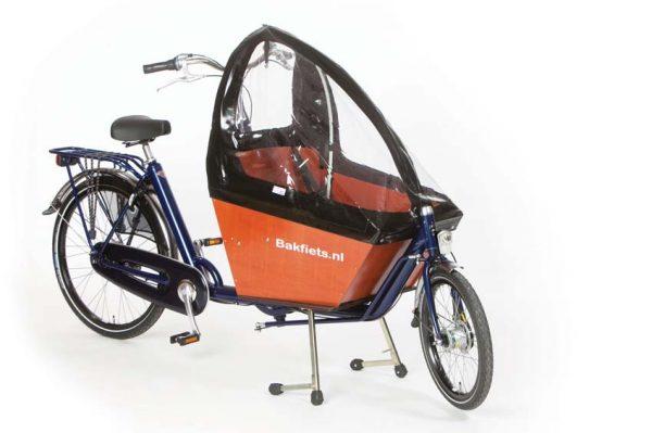 Rain cover (E-)Cargo Compact - Black - Amsterdam Bicycle Company