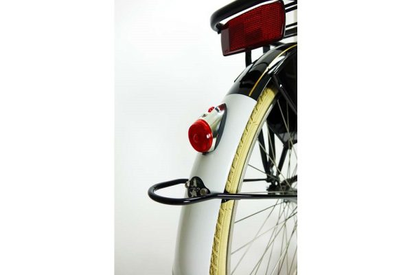 Rear Light Spanninga Nr 9 - Chrome - Amsterdam Bicycle Company