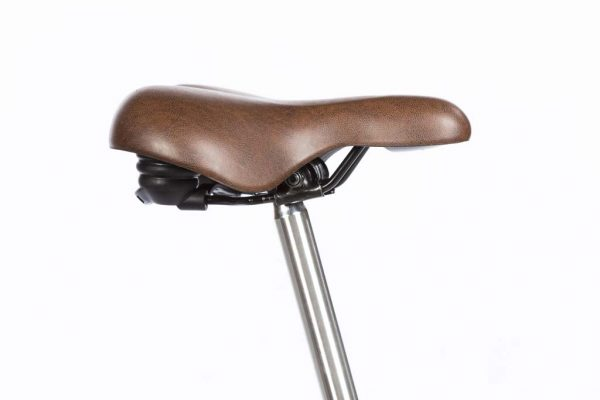 Saddle San Remo Vienna Brown - Dutch Clean Bicycle