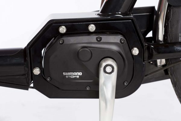 Shimano Steps Mid-Drive Motor Electric Cargo Bike