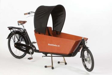 Sunshade for (e-)cargo bike - Amsterdam Bicycle Company